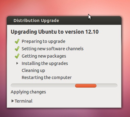Ubuntu Upgrade Step 9