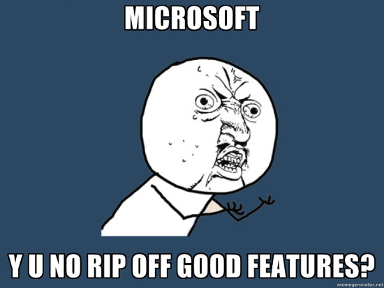 Ms rip off good features
