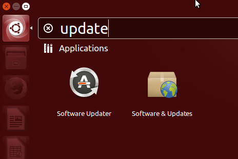 application updater - software update Ubuntu 13.10