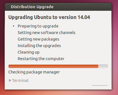 release preparations ubuntu 14.04 - software update Ubuntu 13.10