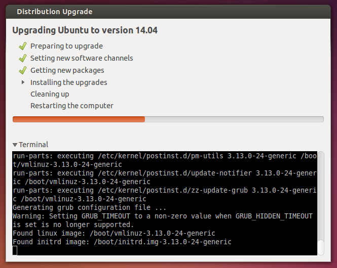 installing upgrades ubuntu 14.04 - software update 2 Ubuntu 13.10